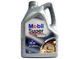 c8b54fb8ed Motorový olej MOBIL SUPER 3000 XE 5W-30   5L
